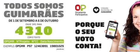 VOTAÇÃO PARA O ORÇAMENTO PARTICIPATIVO TERMINA ESTA QUINTA-FEIRA