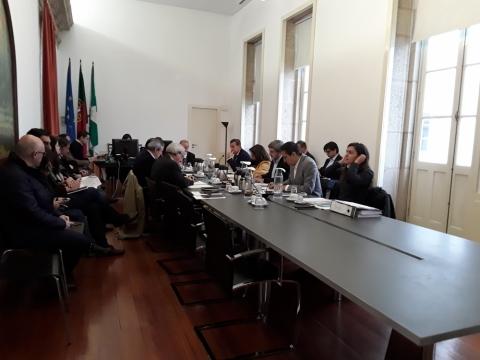 Executivo vimaranense reunido