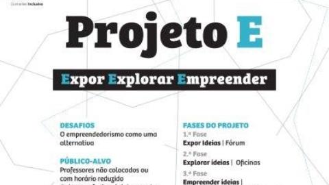 """""""PROJETO E"""" PARA PROFESSORES DESEMPREGADOS OU COM HORÁRIOS REDUZIDOS"""