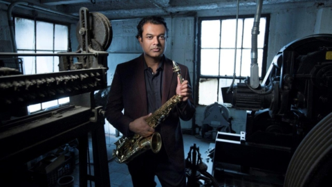 RUDRESH MAHANTHAPPA NOS 25 ANOS DO GUIMARÃES JAZZ