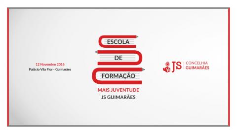 """JS ORGANIZA 3ª EDIÇÃO DA ESCOLA DE FORMAÇÃO """"MAIS JUVENTUDE"""""""