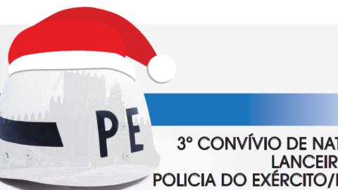 3º CONVÍVIO DE NATAL DOS LANCEIROS DA POLÍCIA MILITAR E DO EXÉRCITO
