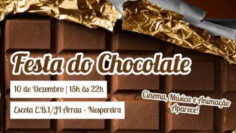 FESTA DO CHOCOLATE EM NESPEREIRA REALIZA-SE ESTE SÁBADO