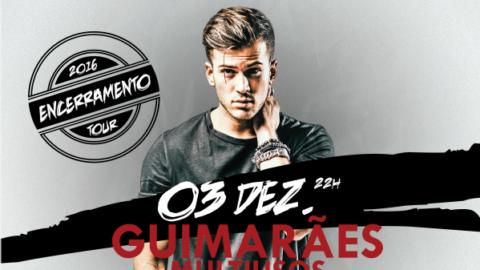 """DAVID CARREIRA ENCERRA """"3 TOUR"""" EM GUIMARÃES"""
