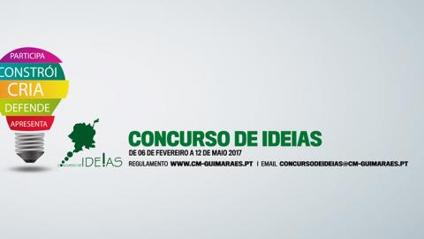 CONCURSO DE IDEIAS PARA GUIMARÃES ARRANCOU HOJE