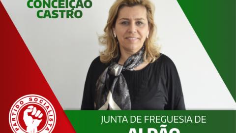 CONCEIÇÃO CASTRO RECANDIDATA-SE PELO PS À JUNTA DE FREGUESIA DE ALDÃO