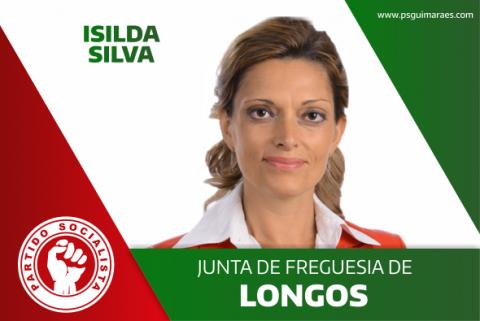 ISILDA SILVA RECANDIDATA-SE PELO PS À JUNTA DE FREGUESIA DE LONGOS