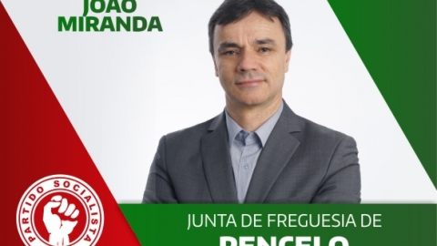 JOÃO MIRANDA CANDIDATA-SE À JUNTA DE FREGUESIA DE PENCELO PELO PS