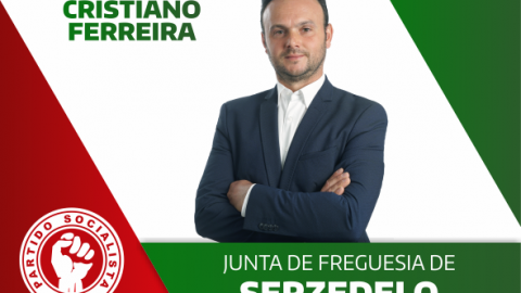 CRISTIANO FERREIRA CANDIDATO DO PS À JUNTA DE FREGUESIA DE SERZEDELO