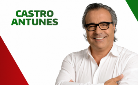 CASTRO ANTUNES RECANDIDATA-SE A AZURÉM