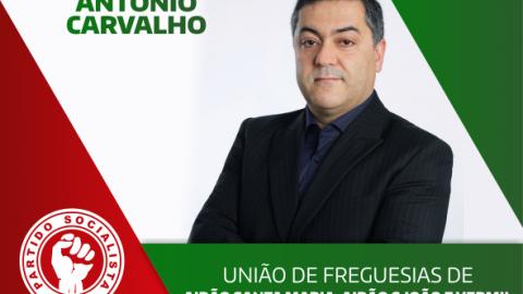 PS RECANDIDATA ANTÓNIO CARVALHO À UNIÃO DE FREGUESIAS DE AIRÃO SANTA  MARIA, AIRÃO S. JOÃO E VERMIL
