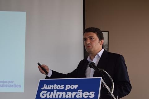 JUNTOS POR GUIMARÃES APRESENTA PROJETO INTERLIGAÇÃO DA CIDADE COM AS FREGUESIAS