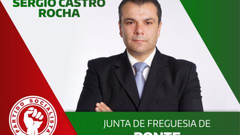SÉRGIO ROCHA CANDIDATA-SE À JUNTA DE PONTE