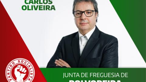 CARLOS OLIVEIRA CANDIDATO À JUNTA DE FREGUESIA DE POLVOREIRA