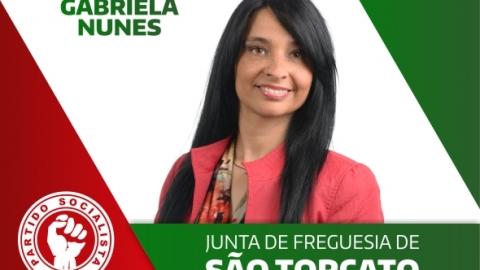 GABRIELA NUNES CANDIDATA-SE À JUNTA DE FREGUESIA DE S.  TORCATO
