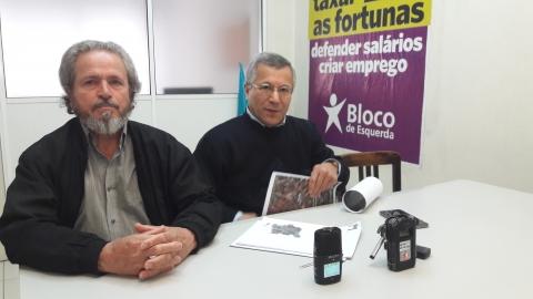 BLOCO DE ESQUERDA CONTESTA NECESSIDADE DO PARQUE DE ESTACIONAMENTO CAMÕES