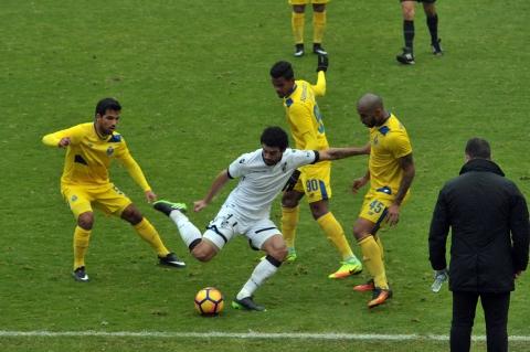 VITÓRIA PERDE COM FC PORTO B COM GOLO NO INÍCIO DA SEGUNDA PARTE