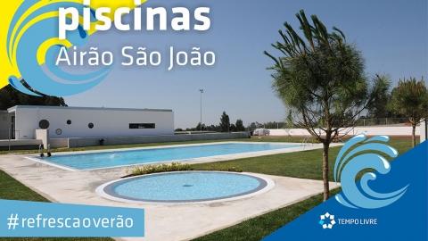 PISCINAS DE AIRÃO SÃO JORGE REABREM NO PRÓXIMO SÁBADO