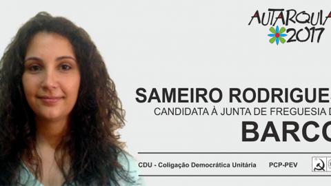 CANDIDATURA DA CDU À PRESIDÊNCIA DA JUNTA DE FREGUESIA DE BARCO