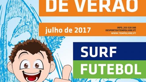 OFICINAS DE FUTEBOL E DE SURF EM GUIMARÃES