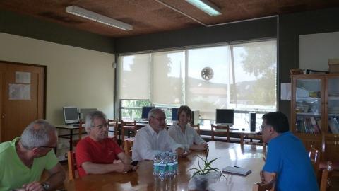 TORCATO RIBEIRO REUNIU COM O AGRUPAMENTO DE ESCOLAS DAS TAIPAS