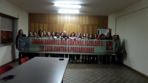 """TRABALHADORAS DAS CANTINAS ESCOLARES CONSEGUEM ACORDO """"HISTÓRICO"""""""