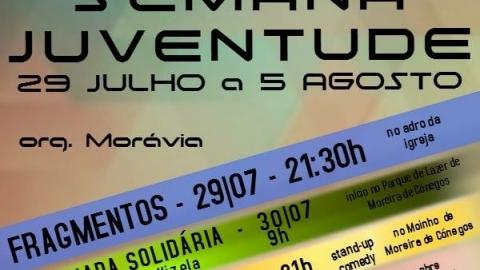 SEMANA DA JUVENTUDE EM MOREIRA DE CÓNEGOS