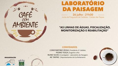 """TERTÚLIA """"CAFÉ COM AMBIENTE"""" ESTA NOITE NAS TAIPAS"""