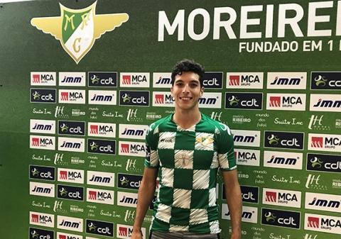 BILEL REFORÇA ZONA OFENSIVA DO MOREIRENSE