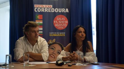 FEST'INFOLK CORREDOURA PRETENDE PROMOVER O FOLCLORE E DIFERENTES CULTURAS