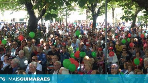 """DOMINGOS BRAGANÇA APELA ÀS FREGUESIAS:""""TODOS SÃO VIMARANENSES"""""""