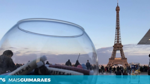 FIO VIMARANENSE BRILHA EM PARIS