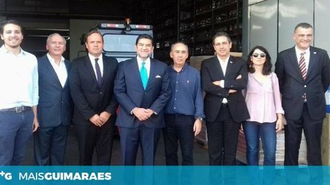 EMBAIXADOR DO MÉXICO PROMOVE COOPERAÇÃO EMPRESARIAL EM VISITA A GUIMARÃES