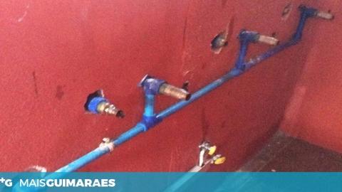 INSTALAÇÕES DO ASES STA. EUFÉMIA ALVO DE ASSALTO