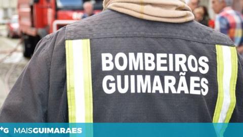 BOMBEIROS COMBATEM INCÊNDIO EM CREIXOMIL