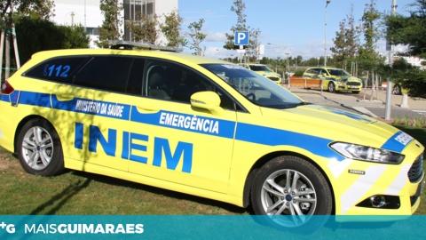 HOSPITAL DE GUIMARÃES RECEBE NOVA VMER QUINTA-FEIRA