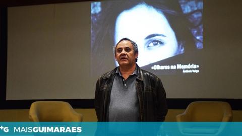 """ANTÓNIO VEIGA FEZ O PRÉ-LANÇAMENTO DO LIVRO """"OLHARES NA MEMÓRIA"""" EM GUIMARÃES"""