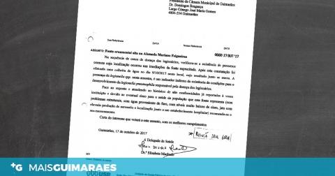 HOUVE CASOS DE DOENÇA DOS LEGIONÁRIOS EM 2017 EM GUIMARÃES
