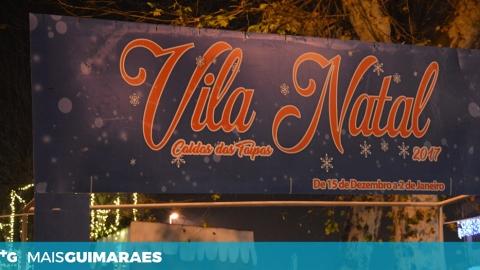 """""""VILA NATAL"""" DAS TAIPAS ABRE AS PORTAS ESTA SEXTA-FEIRA"""