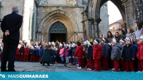 MAIS DE UM MILHAR DE CRIANÇAS VÃO CANTAR OS REIS NO CENTRO HISTÓRICO