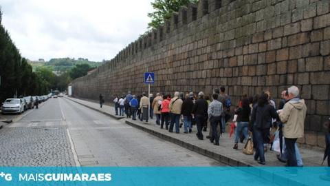 PERCURSO PEDONAL NO ADARVE DA MURALHA FICA PRONTO ATÉ AO FINAL DE 2018
