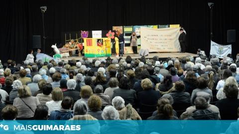 DIA MUNDIAL DO TEATRO CELEBRADO COM CENTENAS DE IDOSOS NO MULTIUSOS