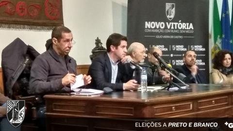 """JVC: """"FOI LANÇADA MUITA POEIRA PARA OS SÓCIOS DO VITÓRIA"""""""
