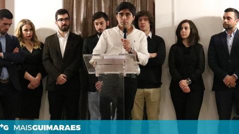 TIAGO LARANJEIRO É O NOVO LÍDER PARLAMENTAR DO PSD DE GUIMARÃES