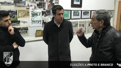 """""""NOVO VITÓRIA"""" VISITOU INSTALAÇÕES DO C.O. CAMPELOS"""
