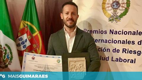 PROFESSOR DA UNIVERSIDADE DO MINHO PREMIADO EM ESPANHA