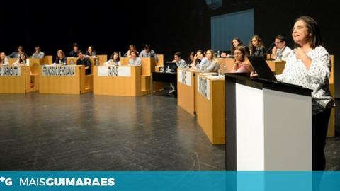 ESCOLAS DE GUIMARÃES CONCORREM AO PARLAMENTO JOVEM EUROPEU