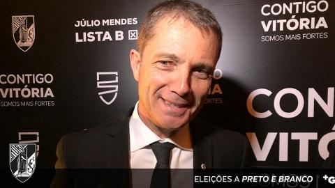 """JÚLIO MENDES: """"OS VITORIANOS VÃO-NOS DAR UM VOTO DE CONFIANÇA"""""""