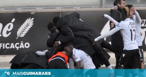 VITÓRIA EMPATA EM CASA CONTRA O PENAFIEL (1-1)