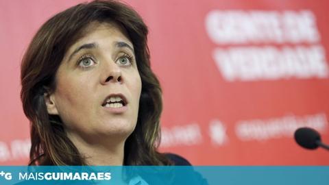 """CATARINA MARTINS: """"ESTÁ A OCORRER UM PROBLEMA GRAVÍSSIMO NA ÁGUAS DO NORTE"""""""